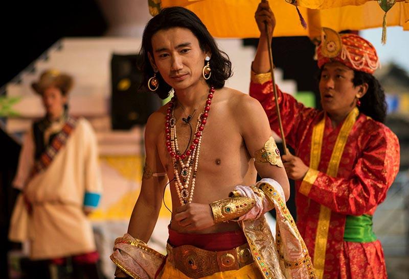 Great Fth Dalia Lama - Tibetan Institute of Performing Arts